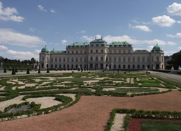 Higher Belvedere, Vienna, Austria