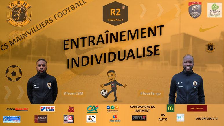 CS Mainvilliers Football Entraînement Individualisé