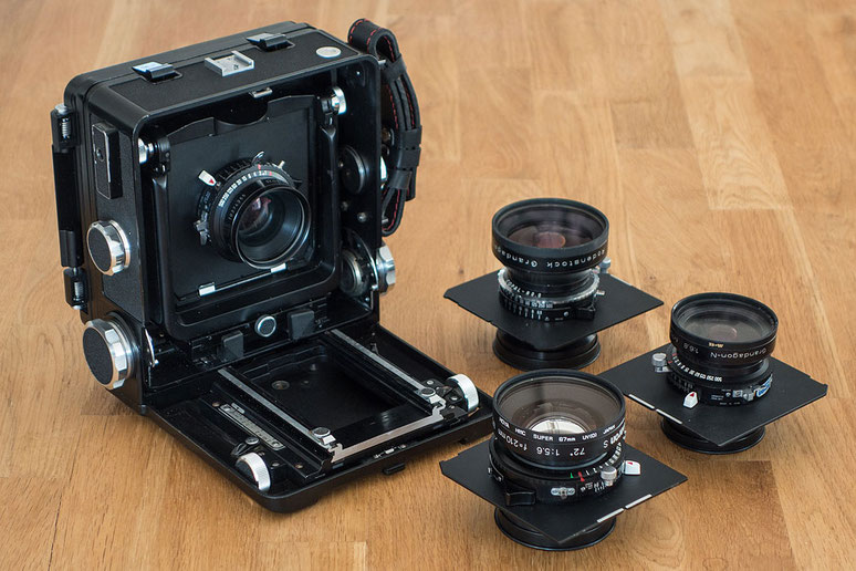 Im Test: Grossformatkamera WISTA 45SP Technical Camera. Foto: bonnescape.de