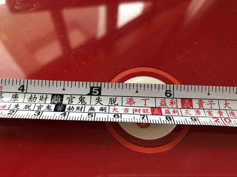 天星尺とは?吉の長さ、凶の高さがわかる目盛りの意味とは?