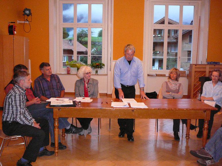 Gründungsversammlung Juni 2010.