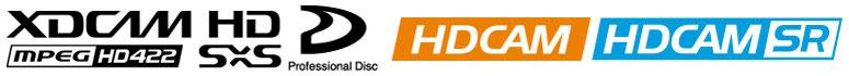 xdcam hdcam hdcamsr prores avid apple edius hqx dnxhd cm納品 cm 搬入 テレビcm プロフェッショナルディスク