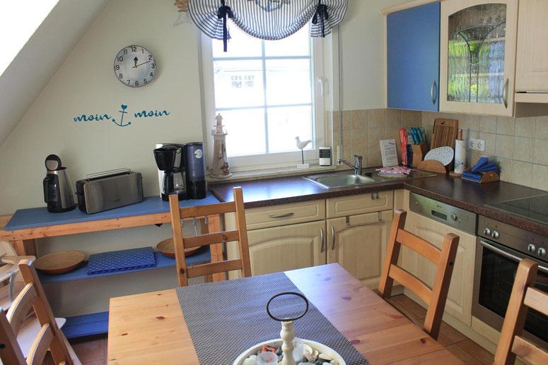 Prerow | Ferienwohnung Buchentraum 1/4 - Küche