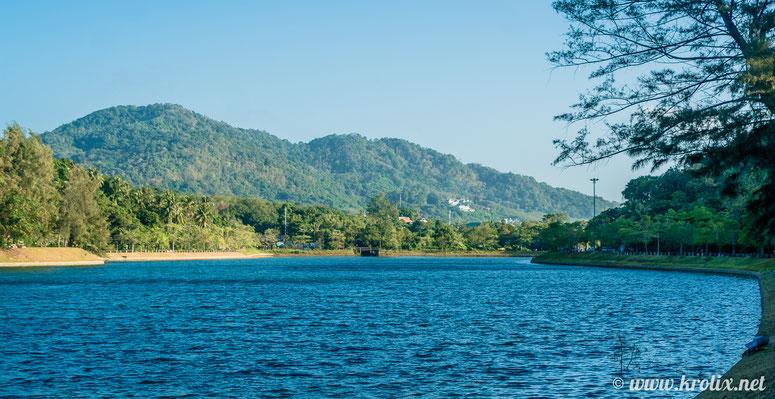 Пхукет --- остров с ярко выраженным рельефом