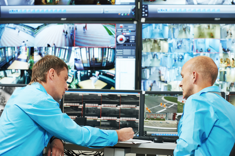 In der Alarm- & Überwachungszentrale sind Ihre Daten sicher!
