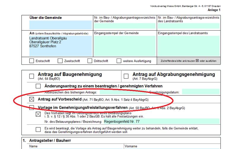 bauantrag, Baugenehmigung München, Starnberg und Augsburg