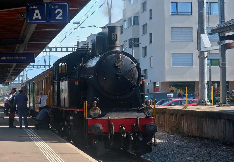 09. September 2021 - Nostalgie dampft durch die Schweiz