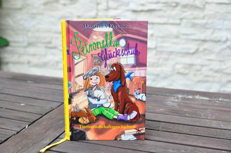Kinderbuch Empfehlung von Famiy Travel Planner: Tierfreundschaftsgeschichten Petronella Glücksschuh vom  Glücksschuh Verlag