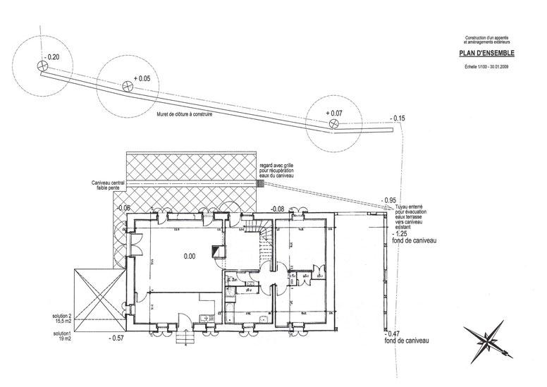 Plan d'aménagement extérieur