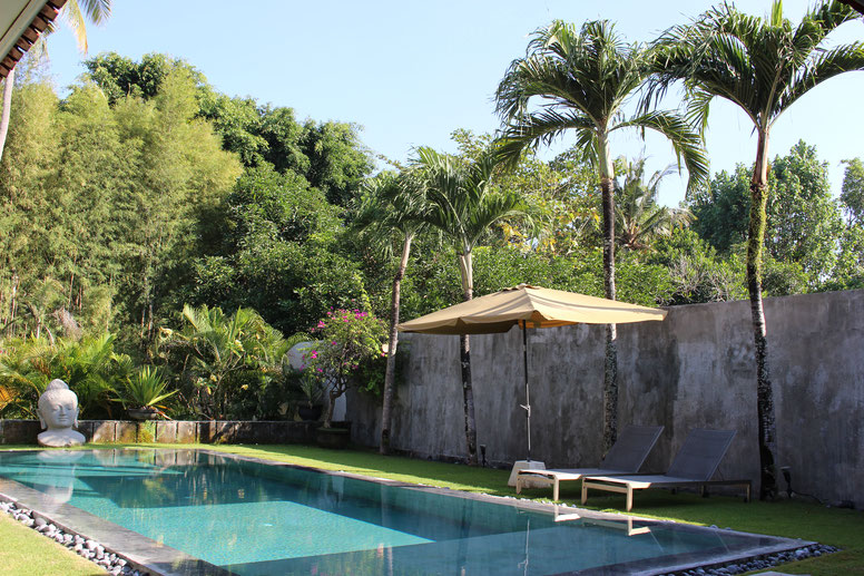 Quiet Tropical Garden which you can enjoy throughout your stay