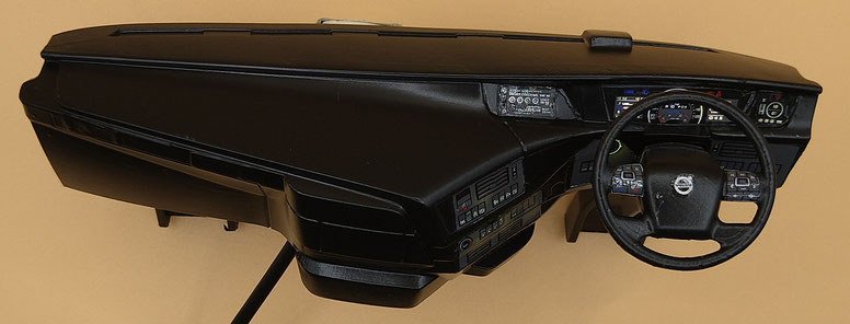 中国製右ハンドル仕様のダッシュボード