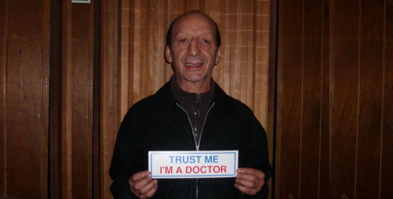 Gustavo Arenas, el Dr. Rock / Fuente: Facebook - Gustavo Arenas