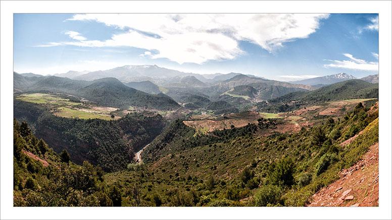 Marruecos, Atlas, medio Atlas, montañas, fotografía de viajes, pasiaje