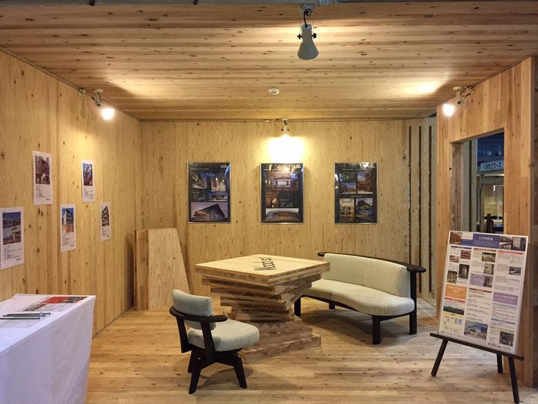 CLT部の西牧リーダーが設計した展示ブース