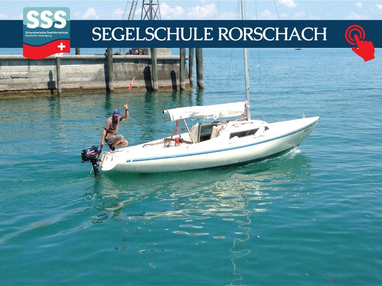 Schweizerische Seefahrtschule |  Segelschule Rorschach am Bodensee | www.schweizerische-seefahrtschule.ch