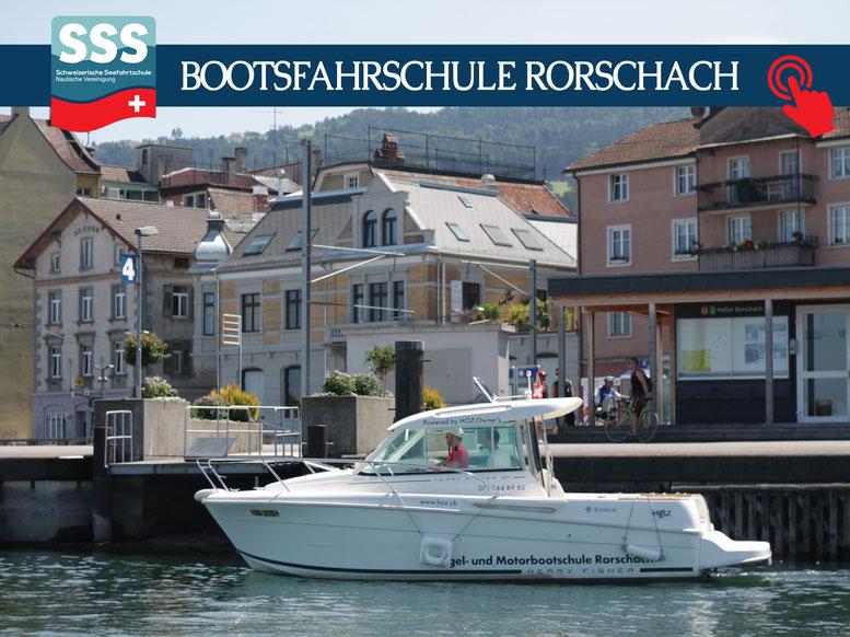 Schweizerische Seefahrtschule |  Motorbootschule Rorschach am Bodensee | www.schweizerische-seefahrtschule.ch