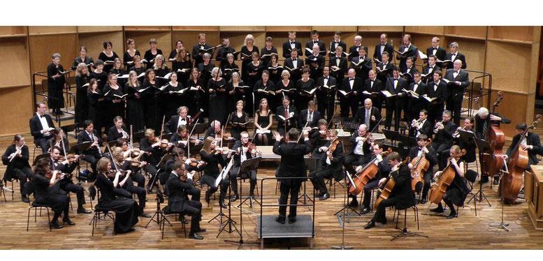 Hans Jaskulsky, Collegium vocale und Collegium instrumentale Bochum; J.S. Bach - h-moll Messe 2013; Auditorium maximum Bochum