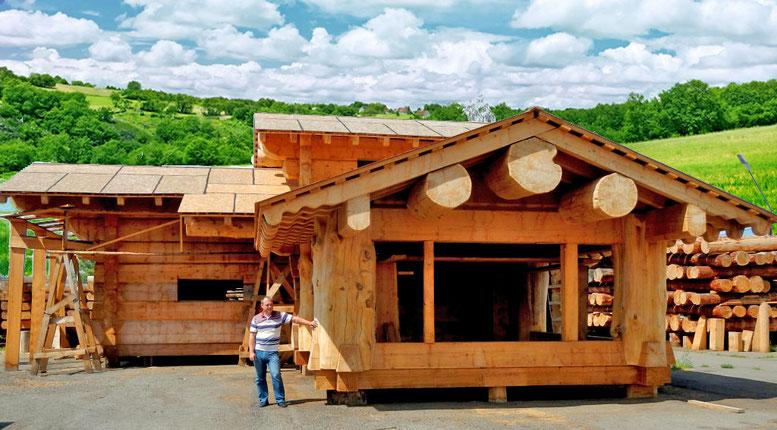 дома из кедрового лафета