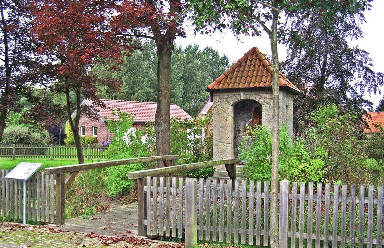"Wegekapelle ""Maria im See"" in Altenmarhorst. Foto: Yvonne Jürgens"
