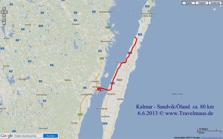Kalmar-Sandvik/Öland