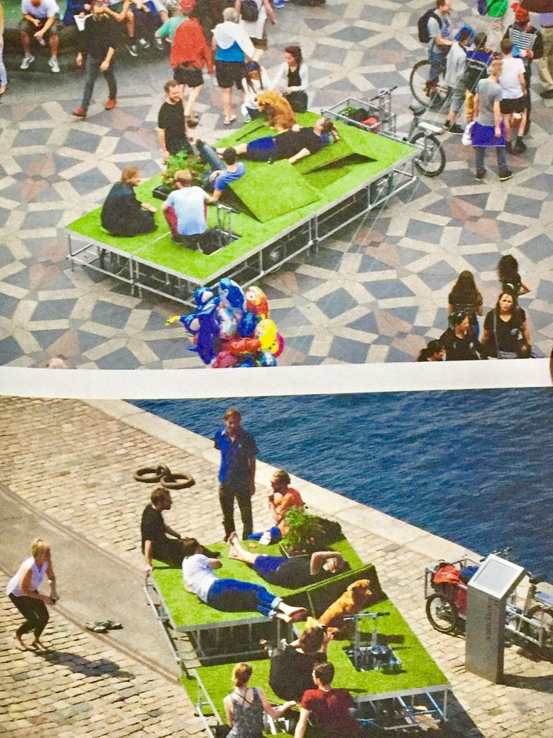 Bild aus dem Buch von Gavin Blyth: Velocity. Architecture for Bikes.