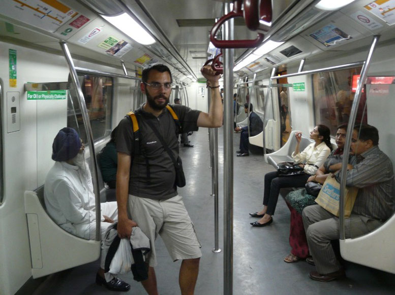 Mais dans le métro c'est plutot calme