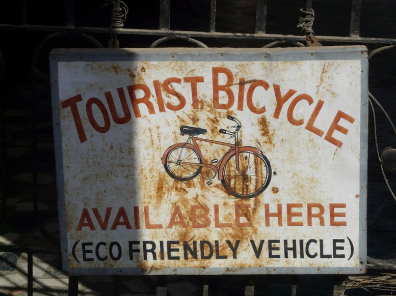 Les remous de la vague verte eclabousse meme Udaipur, mais pour l'instant seuls les touristes sont concernés...