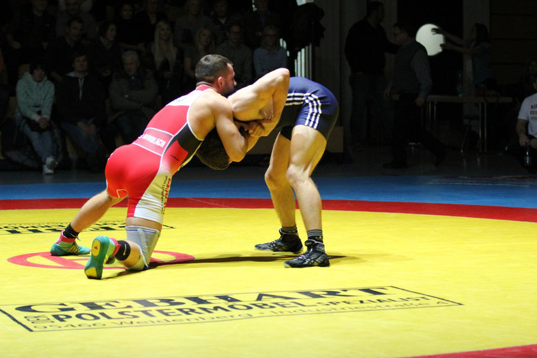 75 kg fr. Marcel Fornoff gegen Stafen Käppeler