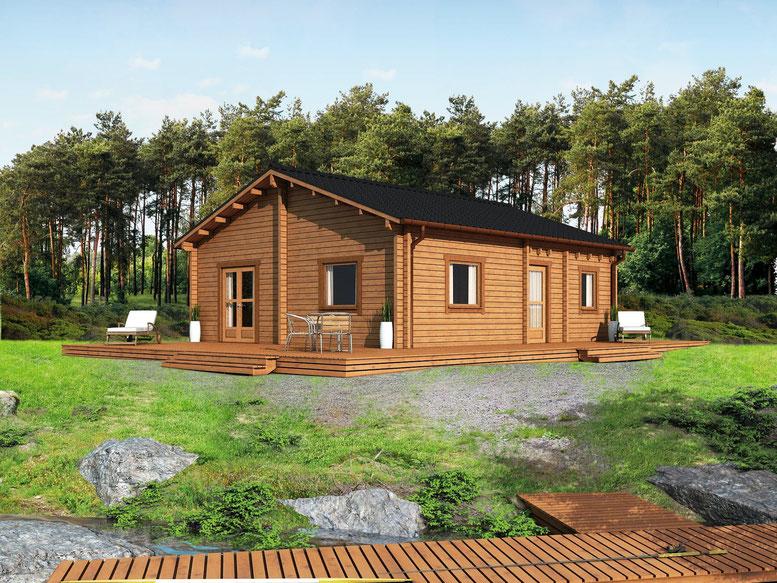haus schwalbennest ferienpark am see in zehdenick. Black Bedroom Furniture Sets. Home Design Ideas