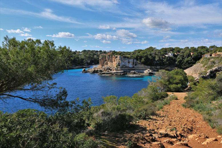 Mallorca, Felsküste Santanayi am Es Pontas