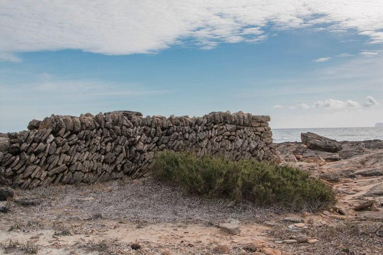 Wanderung Cap de ses Salines nach Cala en Tugores