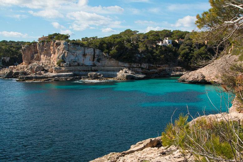Mallorca, Küste Santanayi