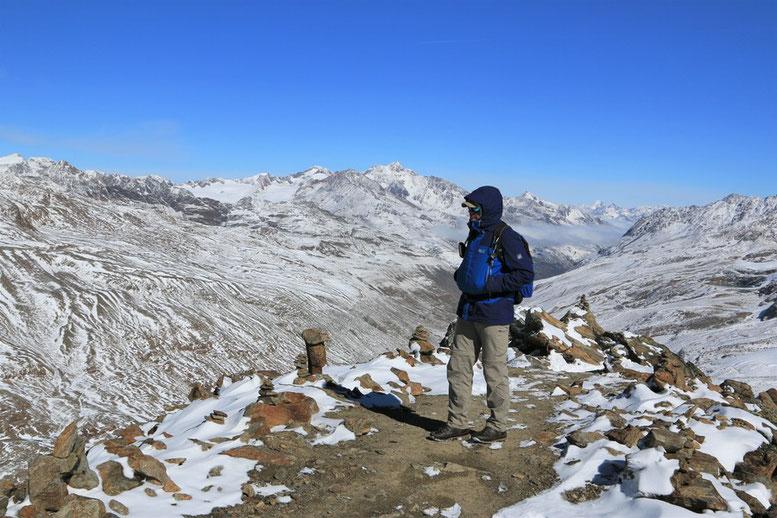Schnalstaler Gletscher, Grawand Grat