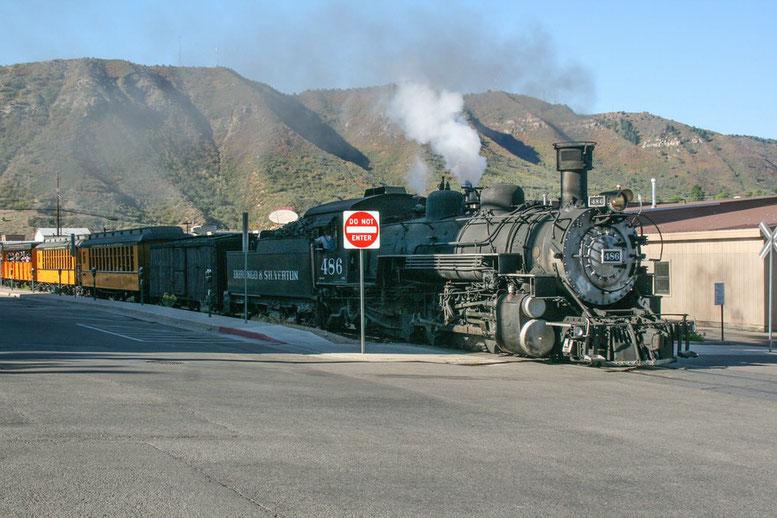 Von Durango nach Silverton
