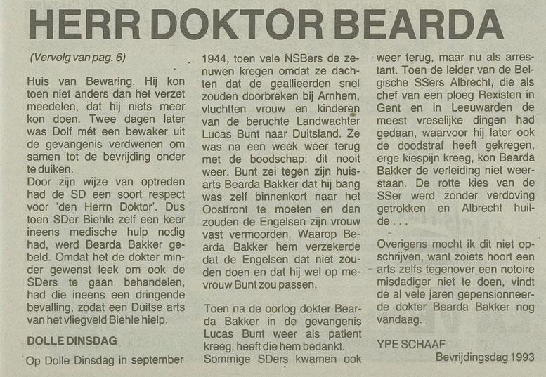 Herr doktor Bearda Bakker