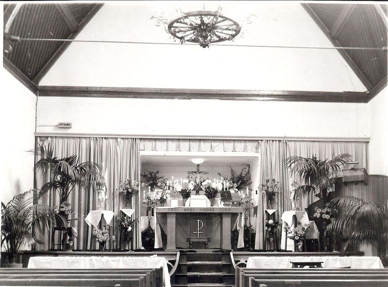 Kerkzaal Huis van Bewaring Leeuwarden