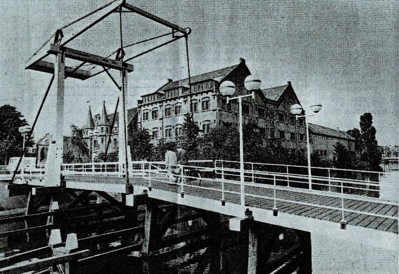 De oude gevangenis van Leeuwarden