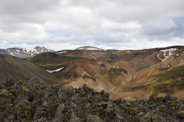 Colourful mountains- day hikes from Landmannalaugar