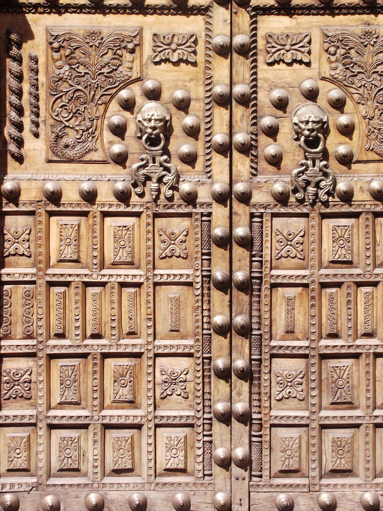 Cusco Peru doors detail