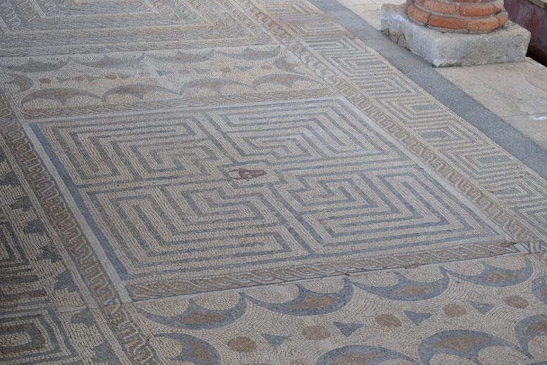 Conimbriga Roman mosaic