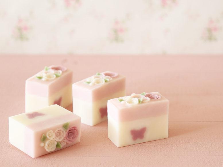 手作り石鹸デザインクラス 教室で学べます