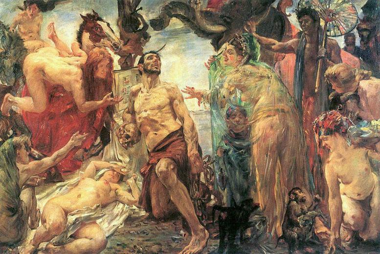 Lovis Corinth, Die Versuchung des Heiligen Antonius, 1908 (Tate Gallery)