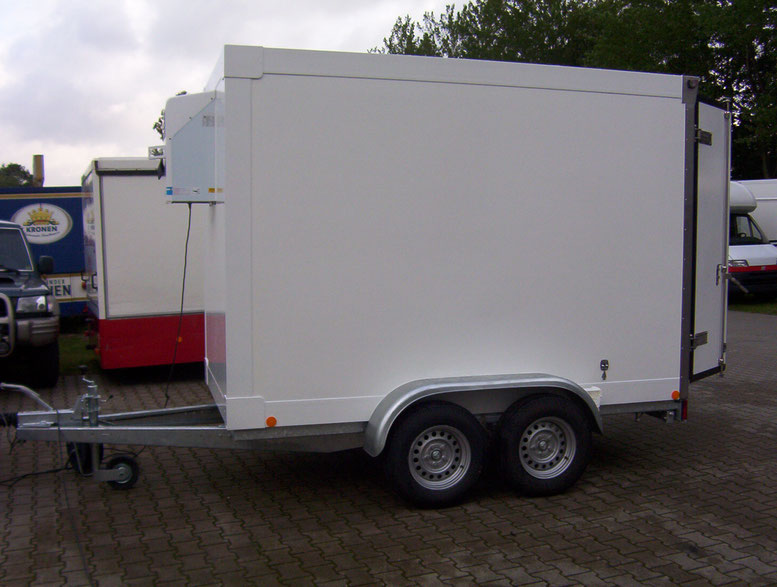 Kühlfahrzeug, Kühlanhänger, Kühltrailer, TK Transporter, Ico Transporte