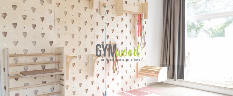 GYM Wood Wall