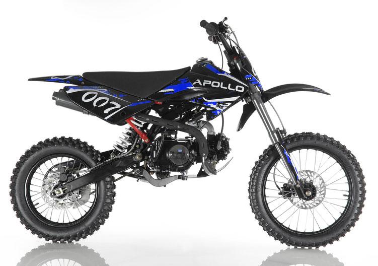 Cougar Cycle DB-007 125cc Manual Clutch 4 Gears Dirt Bike, 4 stroke, Single Cylinder