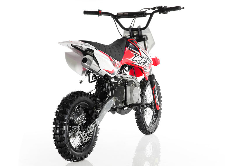 Cougar Cycle DB-X4 RFZ 110cc RACING DIRT BIKE, 4 Stroke Air Cooled, Single Cylinder