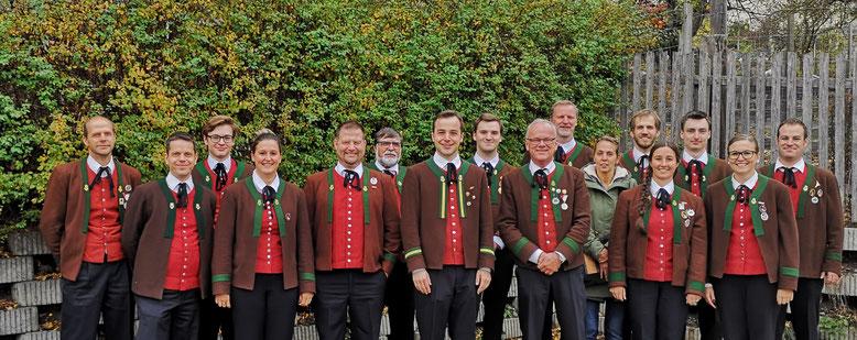 Ausschuss der Musikkapelle Wenns, ab 3. November 2019