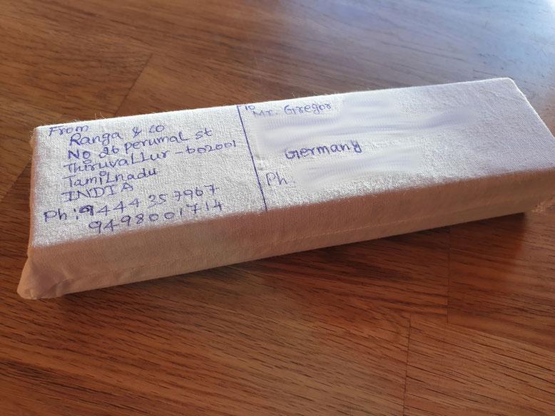 Abb. 1: Versandpaket