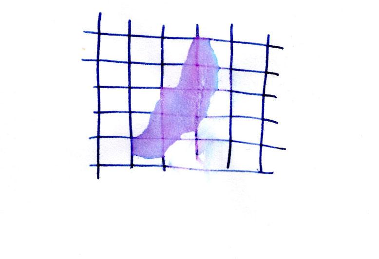 Wassertest. Die Cobalt Blue wird als dokumentenecht beworben.