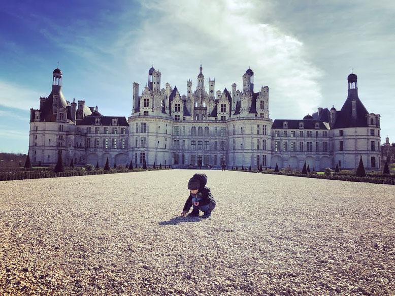 con la valigia arancione travel blog castelli della loira con bambini